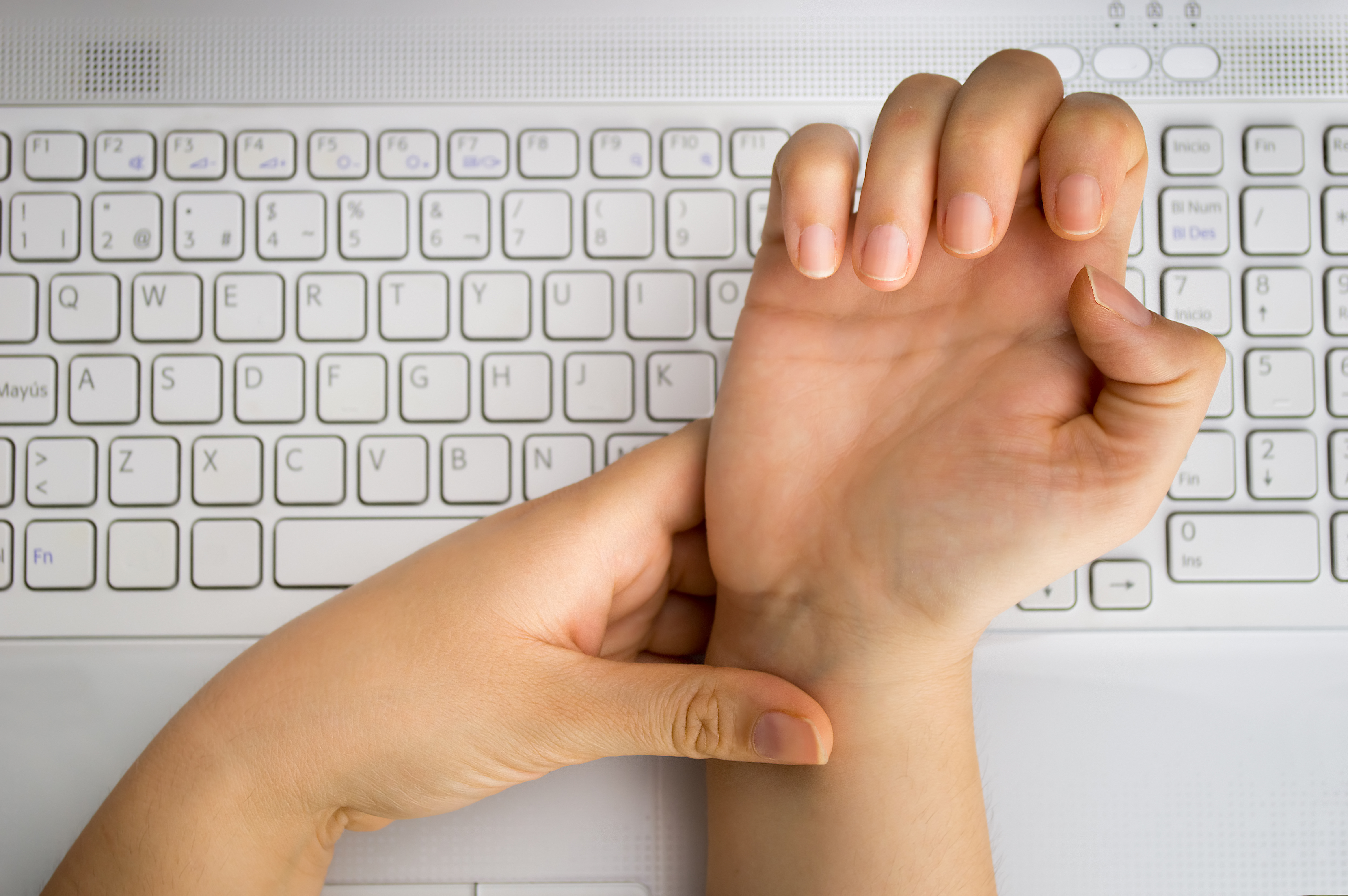 Carpal Tunnel Syndrome at Keyboard